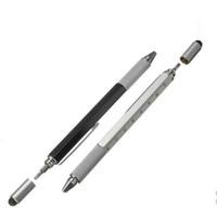 1 teile / los Neue Ankunft Werkzeug Kugelschreiber Schraubendreher Lineal Wasserwaage Mit Einer Spitze Und Skala Multifunktions Kunststoff Stift