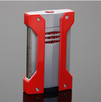 Новое поступление Факел зажигалка металл боковой пресс 1 Факел струи пламени сигары зажигалка для сигары COHIBA..