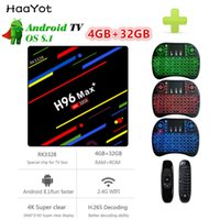 HAAYOT H96 MAX+ TV Box RK3328 Android 8. 1 4GB RAM 32GB 2. 4G ...