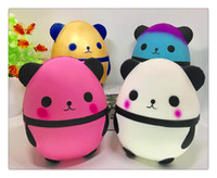 Kawaii Panda Egg Squishy Super Soft Slow Rising Jumbo Squeez...