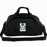 Laguna duffel çantası Santos kulübü tote Warriors Futbol 2 yönlü kullanım sırt çantası Futbol bagaj Takımı omuz duffle Spor sapan paketi