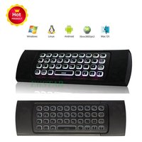 2. 4G Remote Control MX3 Fly Air Mouse Wireless Mini Keyboard...