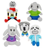 حسم 50٪ على لعبة Feisty Pets Plush Toy Undertale Statue 30cm Sans Doll حيوانات محشوة الطفل عيد الميلاد gif