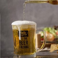 Creative Big Capacity 650ML German Beer Mug Cup With Handle ...