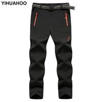 YIHUAHOO Marque Pantalons minces hommes Pantalons tactique imperméable Casual Pantalons montagne Quick Light-Dry pour les hommes Xyn-9916