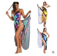 Butterfly Dress Women Sexy Backless Beach Party Dresses Summ...