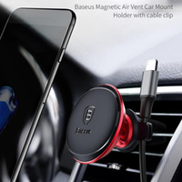 Baseus Magnetic Car Holder For Mobile Phone Car GPS Air Vent...