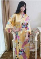 Femmes Robe De Soie Solide Dames Satin Pyjama Lingerie Vêtements De Nuit Tang Vêtements Robe De Bain De Chemise De Nuit 14 couleurs