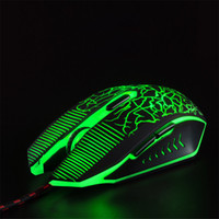 2. 4GHZ Wireless Optical Mouse Internet Cafes Game Led Colorf...