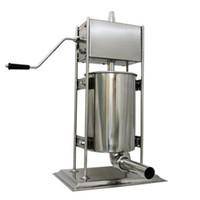Qihang_top kommerzielle Wurstfüller Stuffer 3L manueller Wursthersteller Vertikal tragbares Fleisch Extruder Edelstahl Füllmaschine