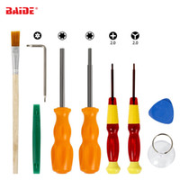 9 in 1 Repair Security Bit Tournevis Outils Triwing pour Switch NES SNES N64 DS Lite GBA Gamecube et Consoles