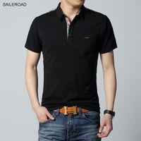 Kaliteli 6xl Artı Boyutu Marka Giyim Erkekler 'S Polo Gömlek Erkekler pamuk Kısa Kollu Gömlek Casual Erkek Üstleri Erkekler Tasarımcı Polo Gömlek Tees