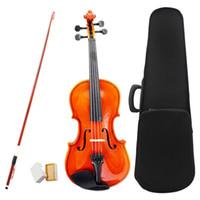 1/4 taille violon violon basswood acier string arc arc pour 6-8 débutants P2X1