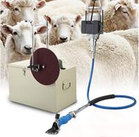 cimatrice di lana grande tipo capra, pecora elettrica