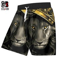 OGKB Beach Shorts Women Men Beach Shorts Sweat Trunks Print ...