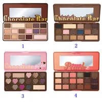 Makeup Chocolate Bar Eyeshadow semi- sweet Sweet Peach Bon Bo...