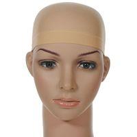 머리 메쉬 가발 모자 머리 넷 가발 라이너 Hairnet 스 네이 드 Glueless Dome 가발 모자 Stretchable Elastic Hair Net ty