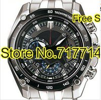 Wholesale- quartz EF-550RBSP-1AV EF-550RBSP-1A Men's Watch 1/20 Pendulum Function Swing Function EF 550RBSP 550 men  watches