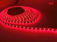 5m 12V 24V 방수 유연한 LED 스트립 5050 300LED 조명 LED 테이프 리본 야외 장식 LED 리본 따뜻한 흰색 화이트 RGB