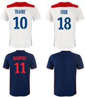 2018 2019 Lyonnais Soccer Jerseys Lyon Home Away Top Thai Qu...