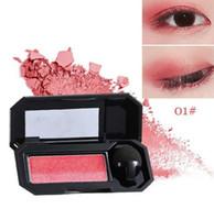 2018 جديد UBUB العلامة التجارية Nude Eye Pignment Color Makeup ماء معدني مسحوق مزدوج اللون بريق عينيه لوحة