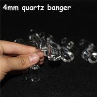 4MM سميكة نادي Banger كوارتز كوارتز 14mm الذكور الإناث. 100٪ الكوارتز الحقيقية