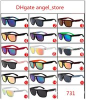 New Sunglasses Outdoor sports sunglasses 731 silver Modern A...