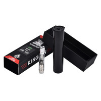Hot in US 710 king pen Pyrex Glass vape Cartouches en céramique bobine avec logo KP Atomizer 510 fil.