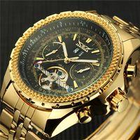 Relojes para hombre Top JARAGAR deporte de los hombres reloj de pulsera mecánico automático del reloj del relogio masculino