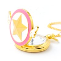 Wholesale 100pcs lot ashion Lovely Pink Quartz Pocket Watch ...