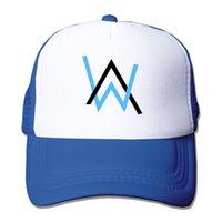 Boné de beisebol Jogo Alan Walker Desvaneceu-se Música Mulheres Homens  Verão Cool Snapback Caps d17b04d3ef9b
