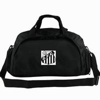 Santos duffel çantası Futebol Clube kulübü tote SFC Futbol 2 yönlü kullanım sırt çantası Futbol bagaj Takımı omuz duffle Spor sapan paketi