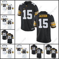 c04f306ca NCAA Iowa Hawkeyes College camisetas de fútbol Desmond King C. J. Beathard  Nick Easley Noah Fant Stanzi