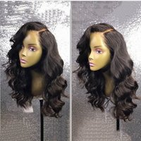 Big Body Wave Human Hair Wigs Bleached Knots Full Lace Wigs ...