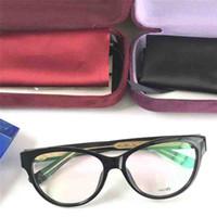 ea2ce06675 Nuovi occhiali ottici di moda più venduti cat eye semplice telaio popolare  generoso stile casual trasparente