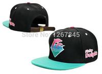 Chapeaux pas cher Snapback Dauphin Rose Casquettes de baseball Drapeaux Dauphin Rose 2018 Nouveaux chapeaux de mode Snapback
