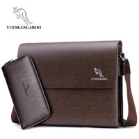 Factory direct kangaroo men' s shoulder bag men' s d...