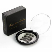 Cils magnétiques Aimant réutilisable fait main 3D Extension de faux cils Aimant doux pour cheveux doux Cils pour les yeux de bonne qualité 6 modèles