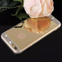 블링 샤인 다이아몬드 전기 도금 거울 TPU 실리콘 소프트 케이스 커버 for iPhone XS 맥스 XR X 8 7 6 Plus 삼성 갤럭시 노트 9 S9 S8 S7 A8