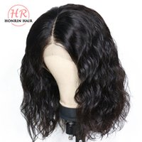 Honrin Hair 13x6 Deep Part Lace Front Wig Water Wave Pre Plu...