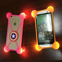 Mobile phone universal anti- drop frame four feet with light ...