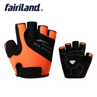 Half Finger Cycling Gloves shockproof breathable High elasti...