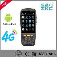 High Speed 4G Wireless Portable Android Handheld PDA With NF...