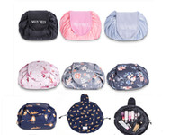 Lazy Vely Vely Portability Magic Travel Pouch Cosmetic Bag 7...