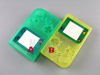 Custodia a conchiglia completa di custodia luminosa per Gameboy Classic per GB DMG GBO Shell