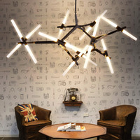 led branches chandelier 110v- 240v 10 14 20 heads office art ...