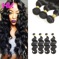 8a malaysian body wave human Hair 4 Bundles Unprocessed Virg...