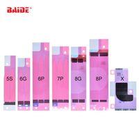 0.2 mm 핑크 배터리 고정 접착제 접착제 스티커 아이폰 5 G 5S 6 G 6S SE 7 G 7 S 플러스 8 X 1000pcs / lot