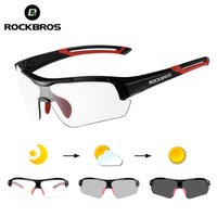 Rockbros Photochromic Cycling Glasses UV400 Protect Bicycle ...