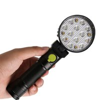 4- modes 12*LED Traffic Control Flashlight Magnetic Hook Warn...
